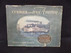 1952 Currier And Ives America Large Hardback Book