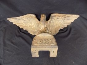 Incredible 1921 Bronze Flying Eagle Architectural