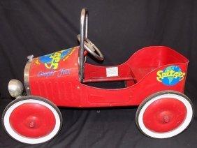 1929 Style Spitzer Dodge Dealership Childs Pedal Car