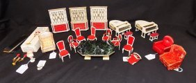 Petite Princess Doll House Furniture Ideal Dining Room,