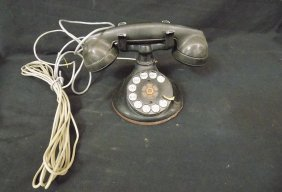 Vintage Art Deco Rotary Dial Bell System Western