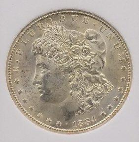 1884cc Morgan 90% Silver Dollar Carson City