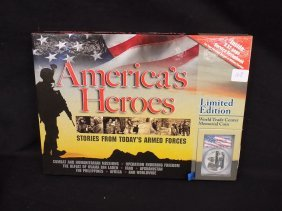American Heroes Book/coin Set 2011 9-11 Memorial