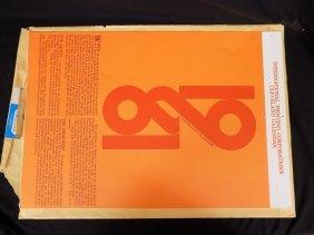 1981 International Printing Corp Roger Coast Calendar
