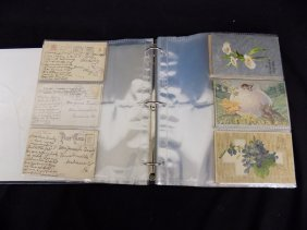 (120+) Vintage Postcard Album Various Holidays And
