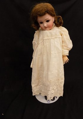 "24"" Antique Heinrich Handwerck Simon & Halbig Doll"