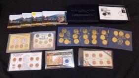 Multiple Nickel + Commemorative Sets Westward Journey