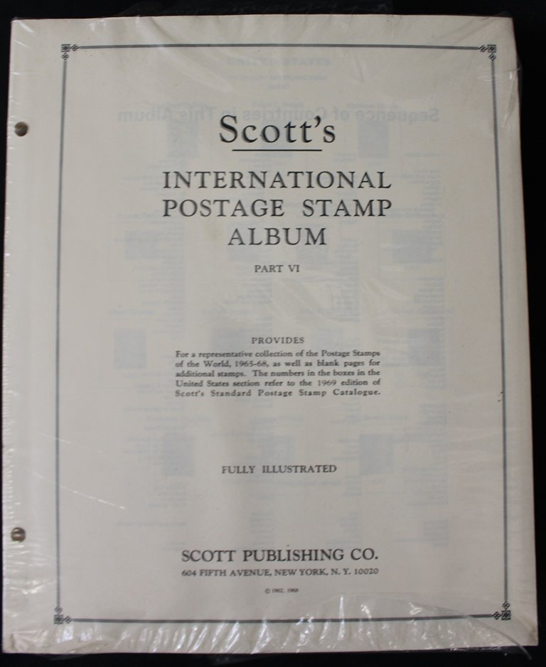 Scott Internation Part VI Pages Still Sealed 1965-1968