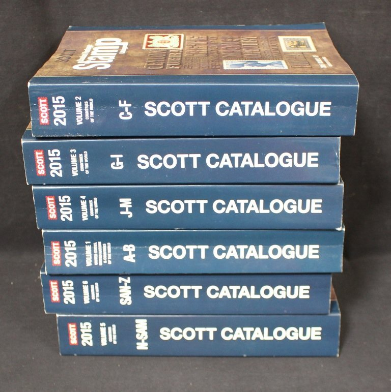 2015 Scott Catalogs Volumes 1-6