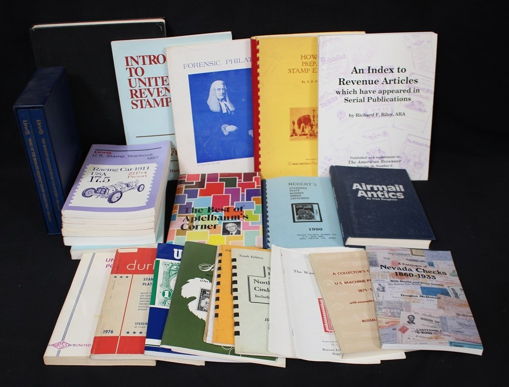 Philatelic Literature Lot