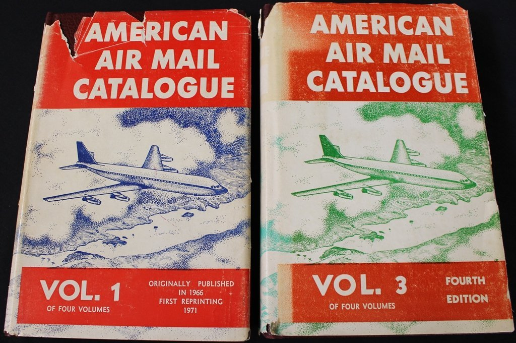 American Airmail Catalogs Volumes One & Three