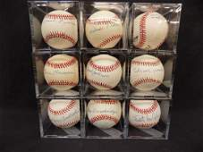 Negro League Autographed Baseball Different