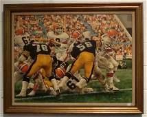 Original Gary Thomas Cleveland Browns Bernie Kosar