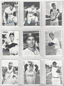1969 Topps Baseball Deckle Edge Complete Set 33 High