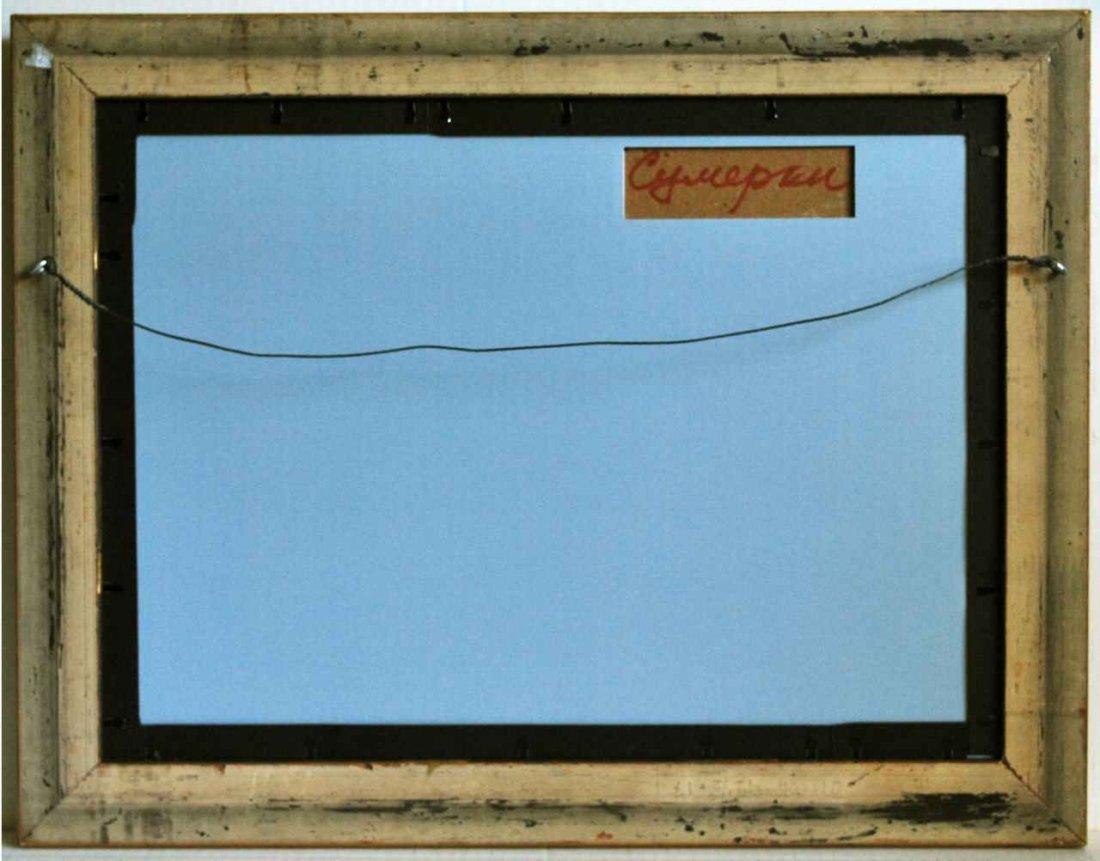 Mark Kremer (Russian, b. 1928) Oil on Board Twilight - 3