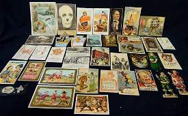 Victorian Advertising Trade Cards 19th and 20th century