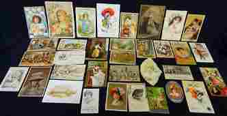 Victorian Advertising Trade Cards 19th century (34) in