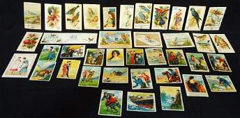 Victorian Trade Advertising Cards 19th century (39)