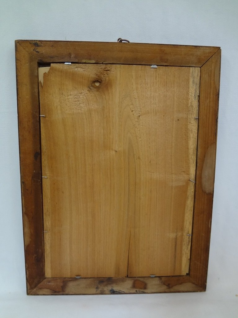 Original 19th Century Grain Painted Frame with N. - 6