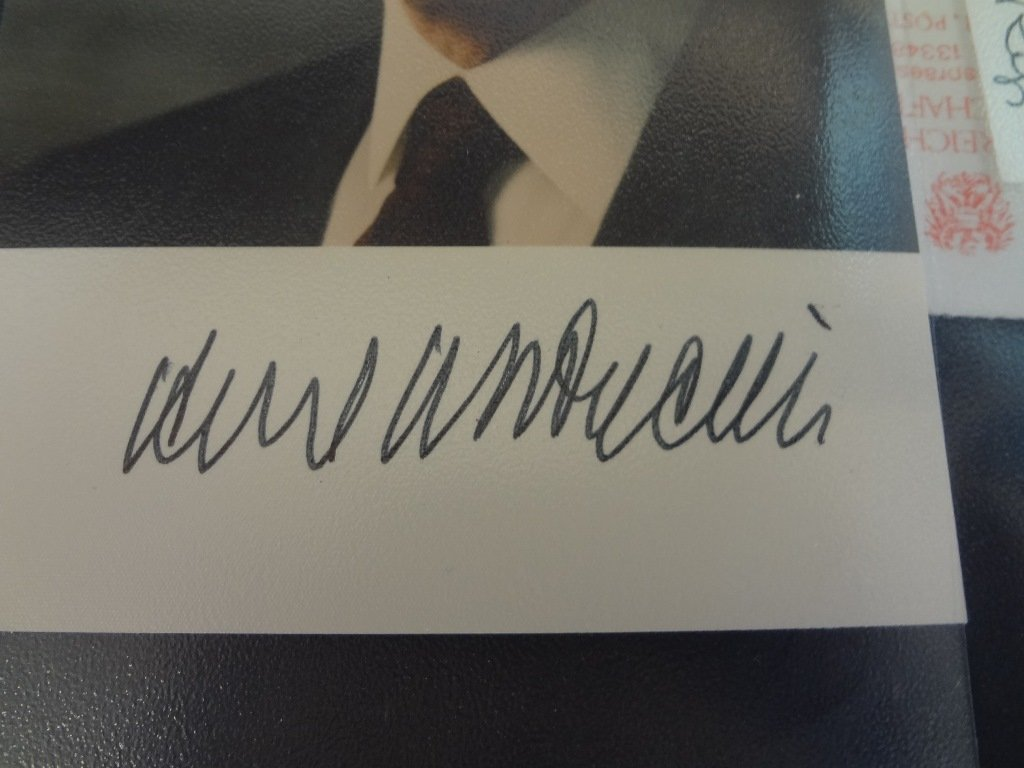 (10) Military and World Leader Autographed Photographs - 3