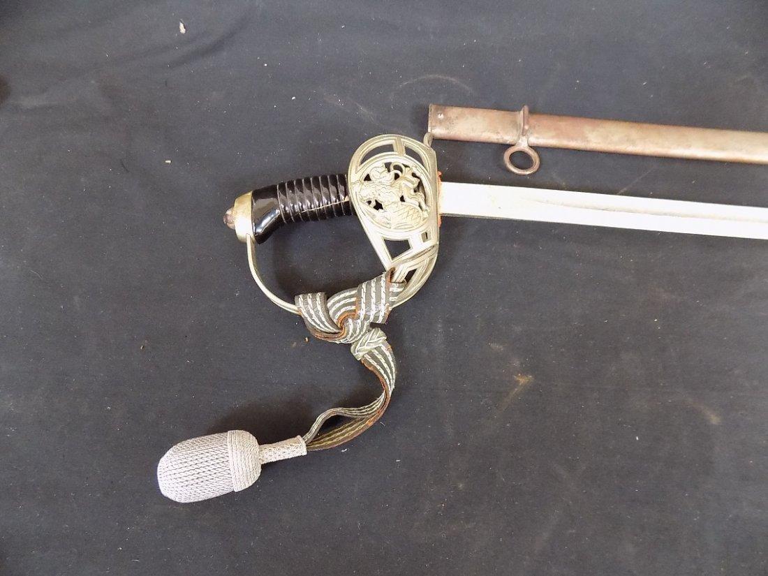 "33"" Bavarian Sword with Scabbard 'Bavarian Lion' - 2"