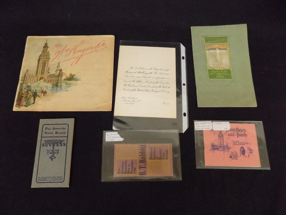 1901 Pan American Exposition Buffalo NY Paper Ephemera