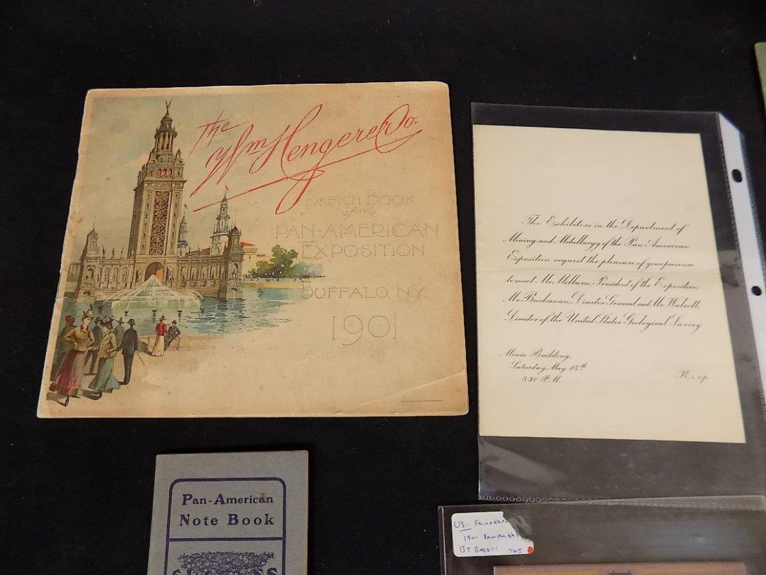 1901 Pan American Exposition Buffalo NY Paper Ephemera - 2