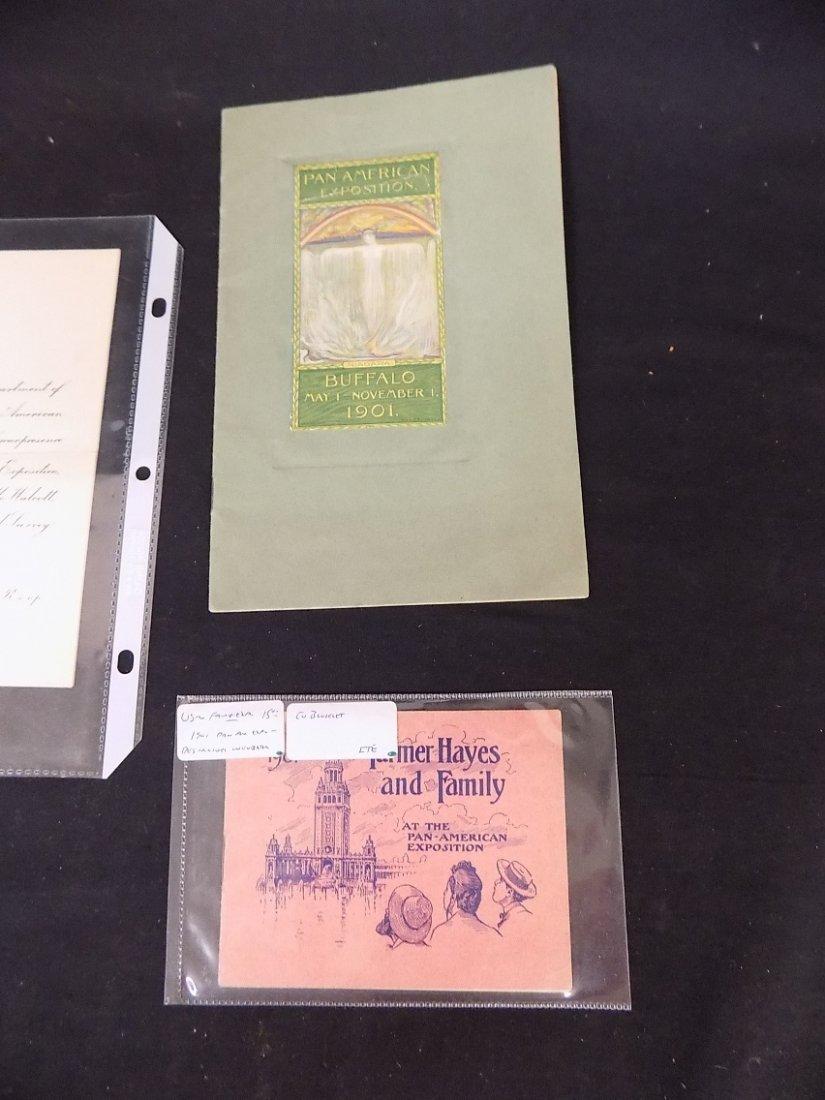 1901 Pan American Exposition Buffalo NY Paper Ephemera - 4