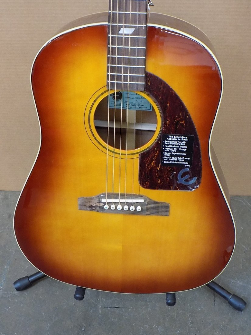 Epiphone FT-79 Inspired By 1964 Texan Acoustic - - 2