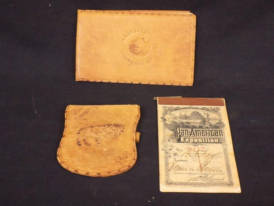 1901 Pan American Exposition Buffalo NY (2)Photo Ticket