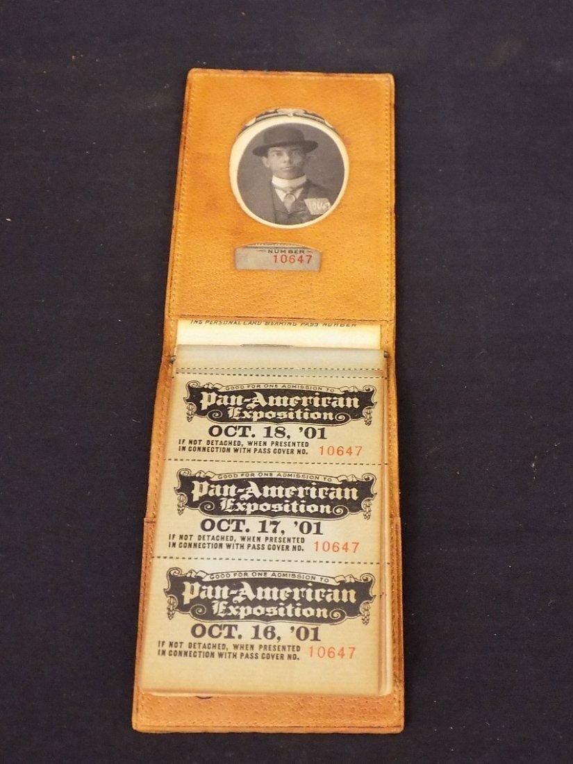 1901 Pan American Exposition Buffalo NY (2)Photo Ticket - 2