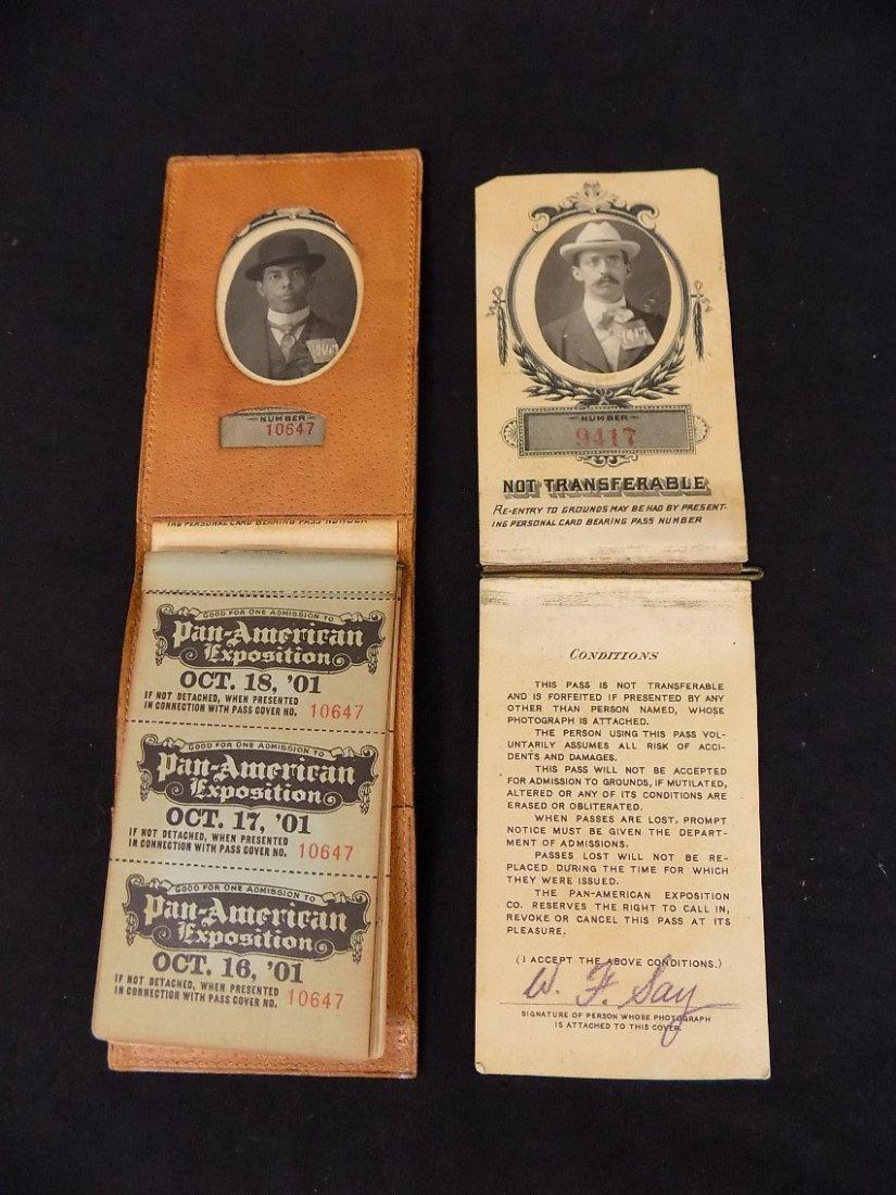 1901 Pan American Exposition Buffalo NY (2)Photo Ticket - 4