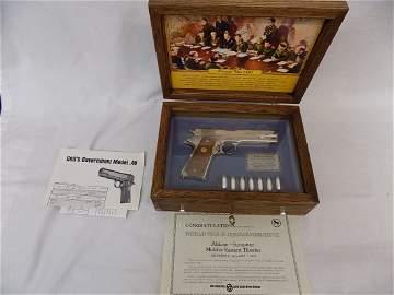 Colt 1911, .45, World War II Commemorative,