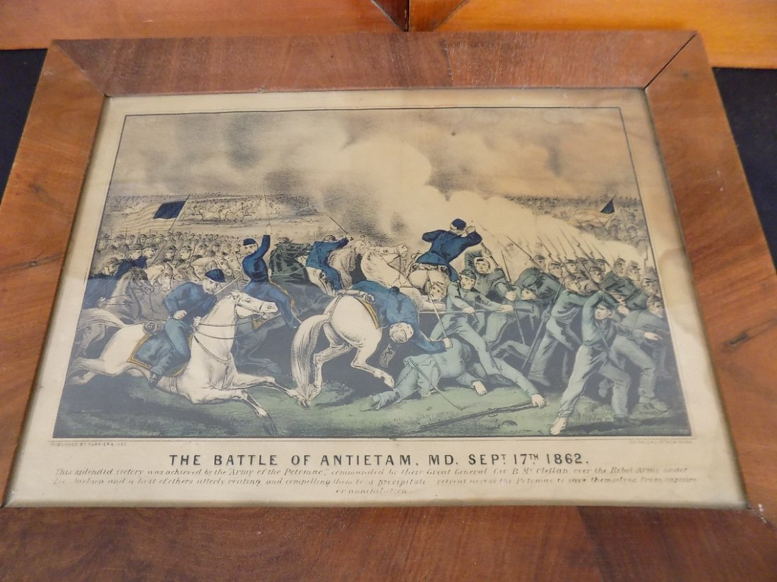 Early Currier & Ives Hand Colored Civil War Prints - 3