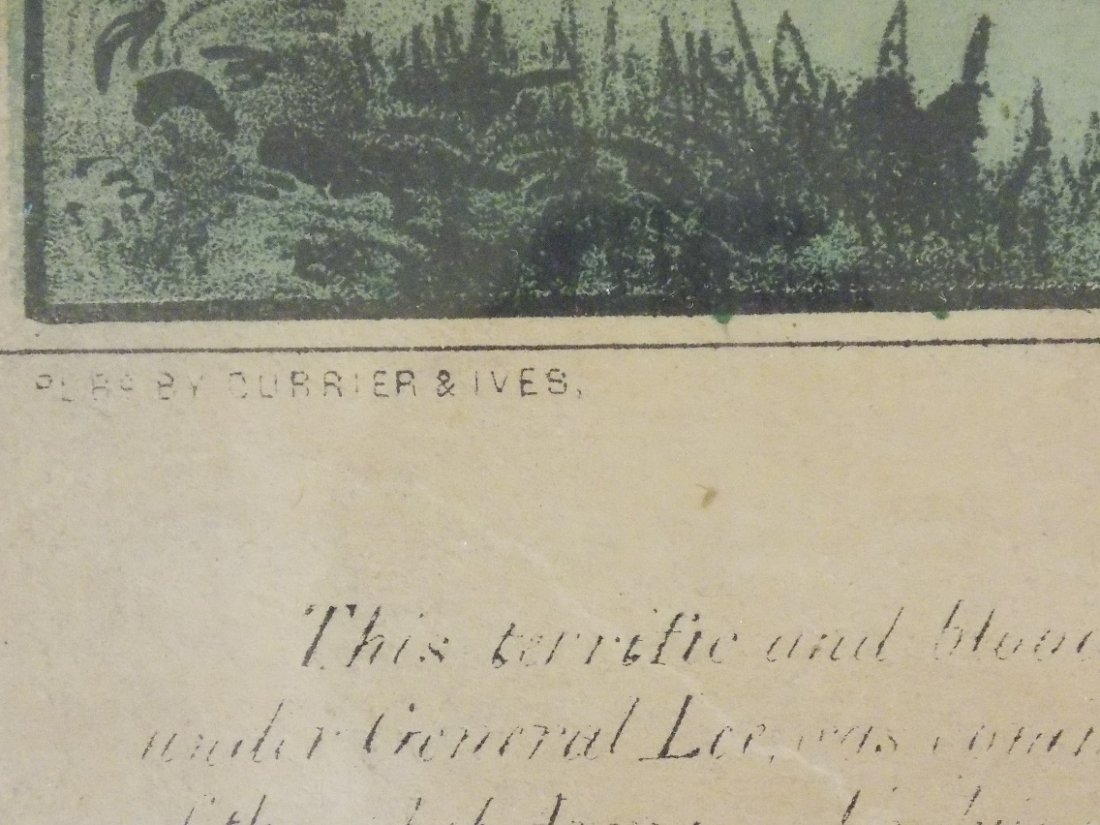 Early Currier & Ives Hand Colored Civil War Prints - 5