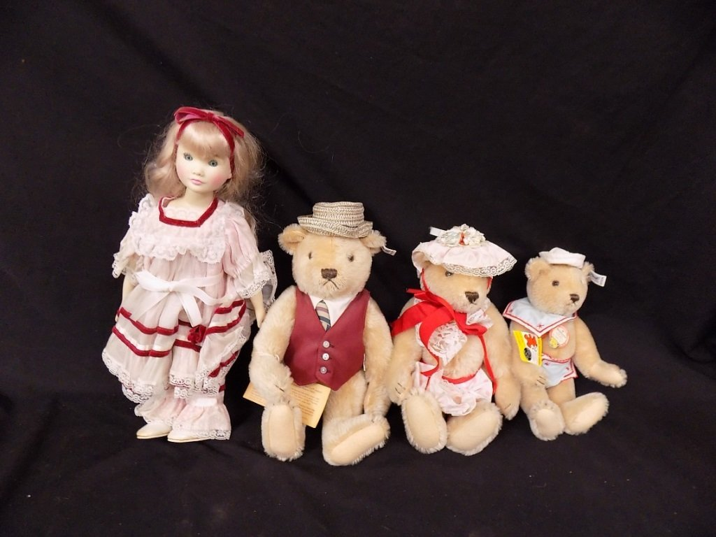 Steiff Limited Edition Goldilocks The 3 Bears 1984