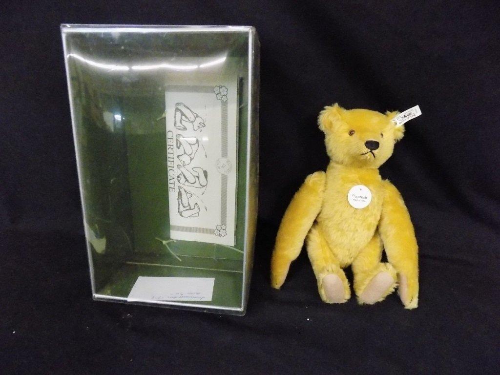 Steiff - Purzel Bar Somersault Bear 1909, in box, with