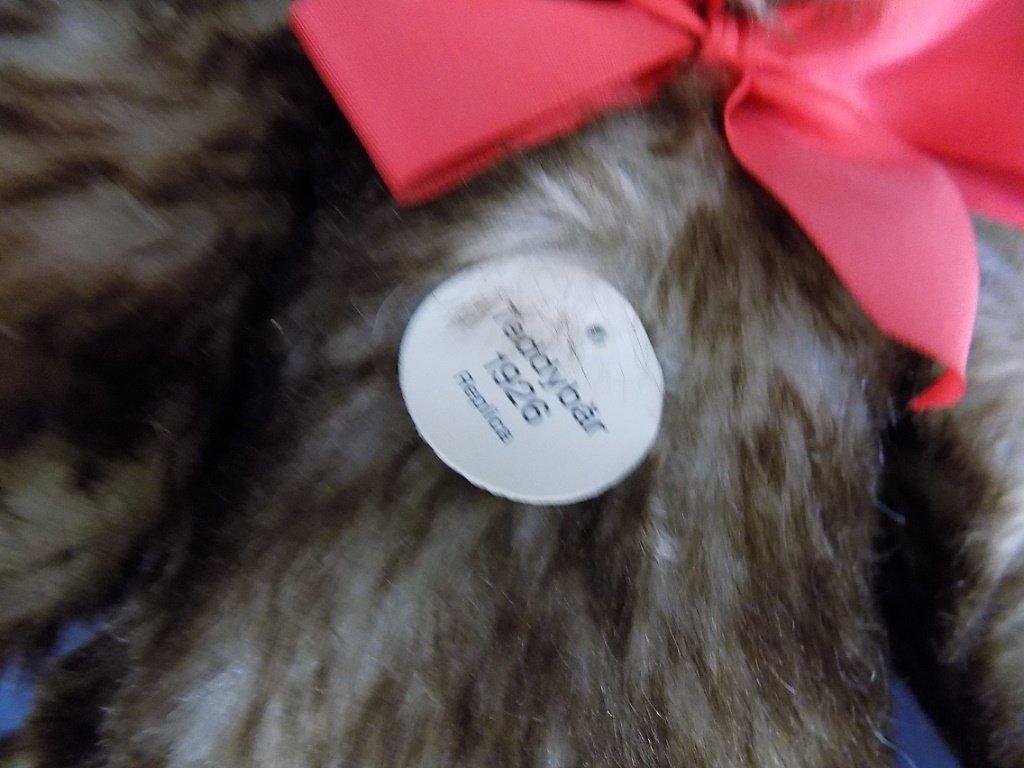 Steiff Mohair Tedday Bear, Happy, Replica 1926 EAN - 3