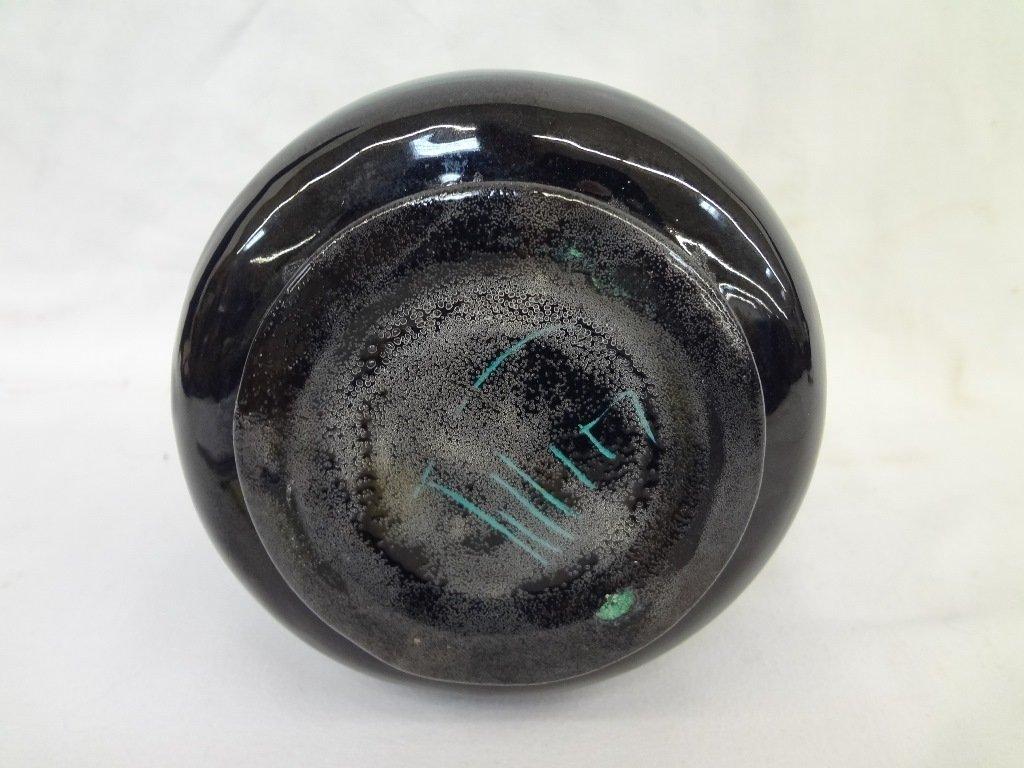 Polia Pillin Art Pttery Blue Vase - 5