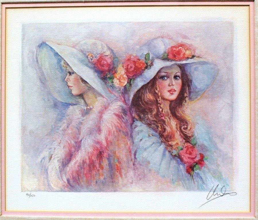 Mary Vickers Signed LE Serigraph 42/750