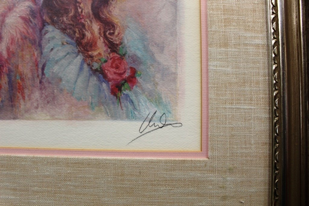 Mary Vickers Signed LE Serigraph 42/750 - 4