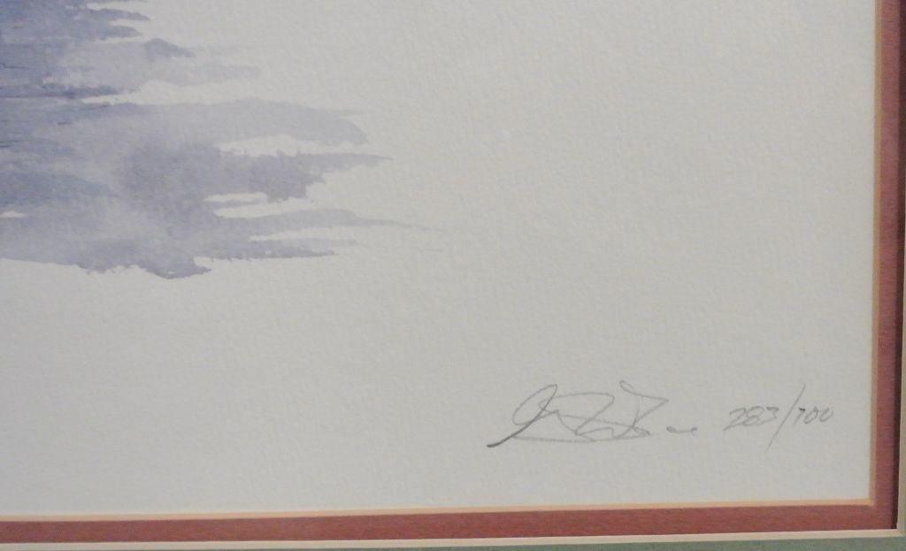 """George Caso """"Horlbeck Alley"""" Pen & Watercolor - 2"""