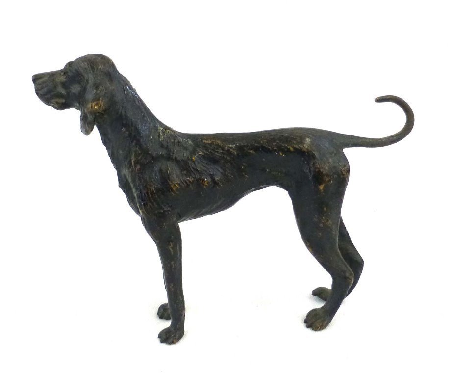 Early English Pointer Dog Sculpture