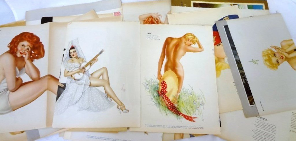 Alberto Vargas Pull-Out Pin ups Esquire Magazine (50)