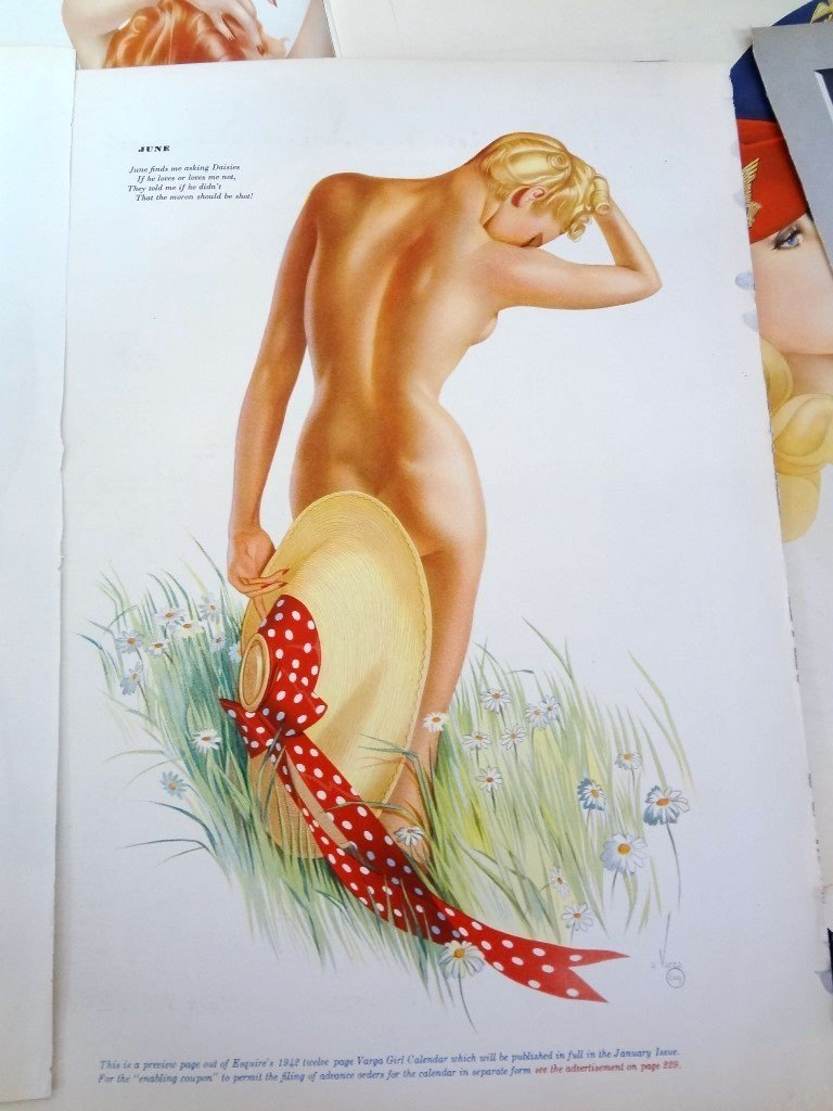 Alberto Vargas Pull-Out Pin ups Esquire Magazine (50) - 2