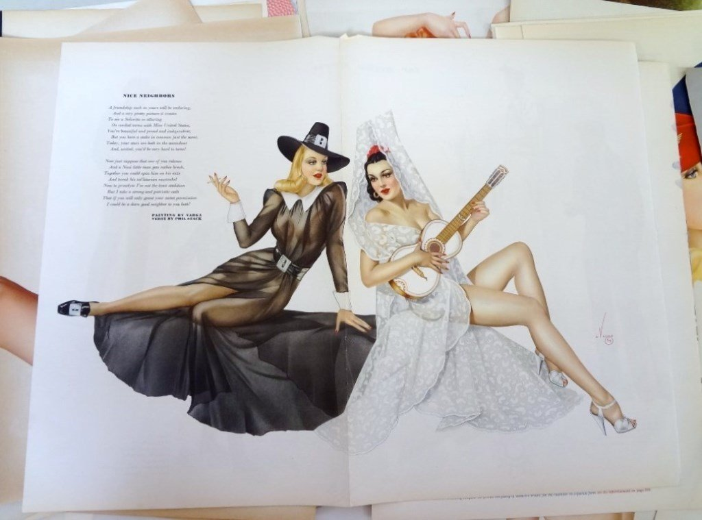 Alberto Vargas Pull-Out Pin ups Esquire Magazine (50) - 3