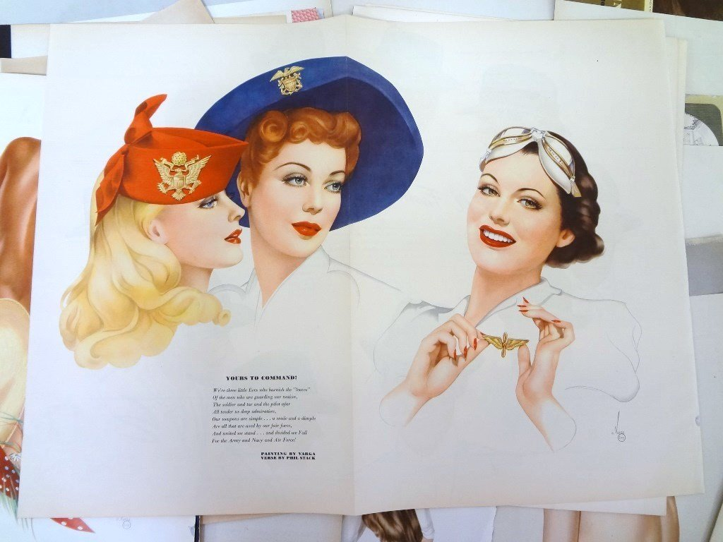 Alberto Vargas Pull-Out Pin ups Esquire Magazine (50) - 4