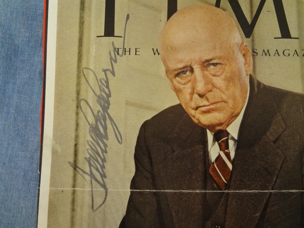 (16) Political Autographed Time Magazine Covers from - 3