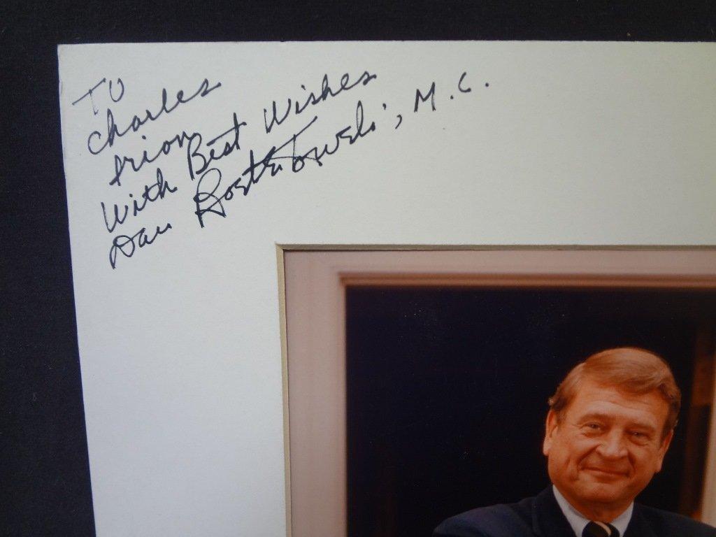 (10) Political Autographed Photos Rockefeller, Helms, - 2