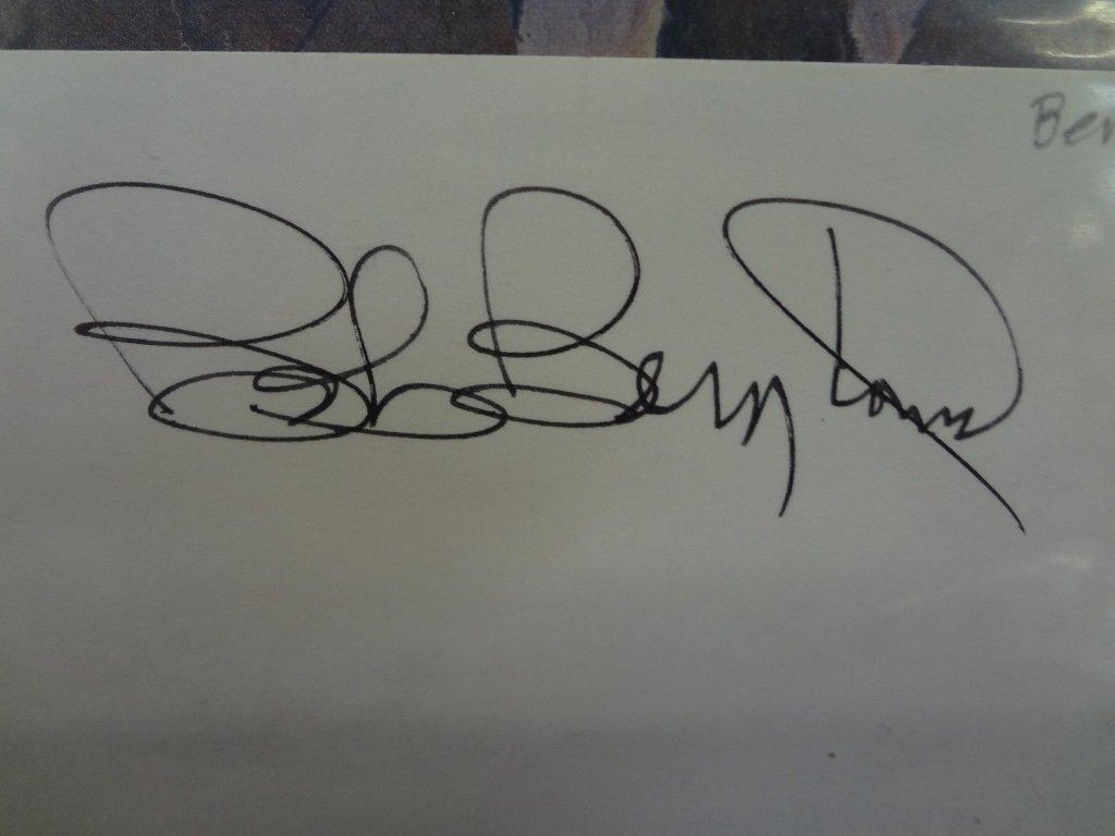 (10) Political Autographed Photos Rockefeller, Helms, - 5